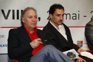 Editorii Națiunii: Romeo Tarhon (stânga) și Cezar A. Mihalache